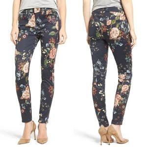 7 for all mankind Floral Ankle Skinny Jeans 26 079